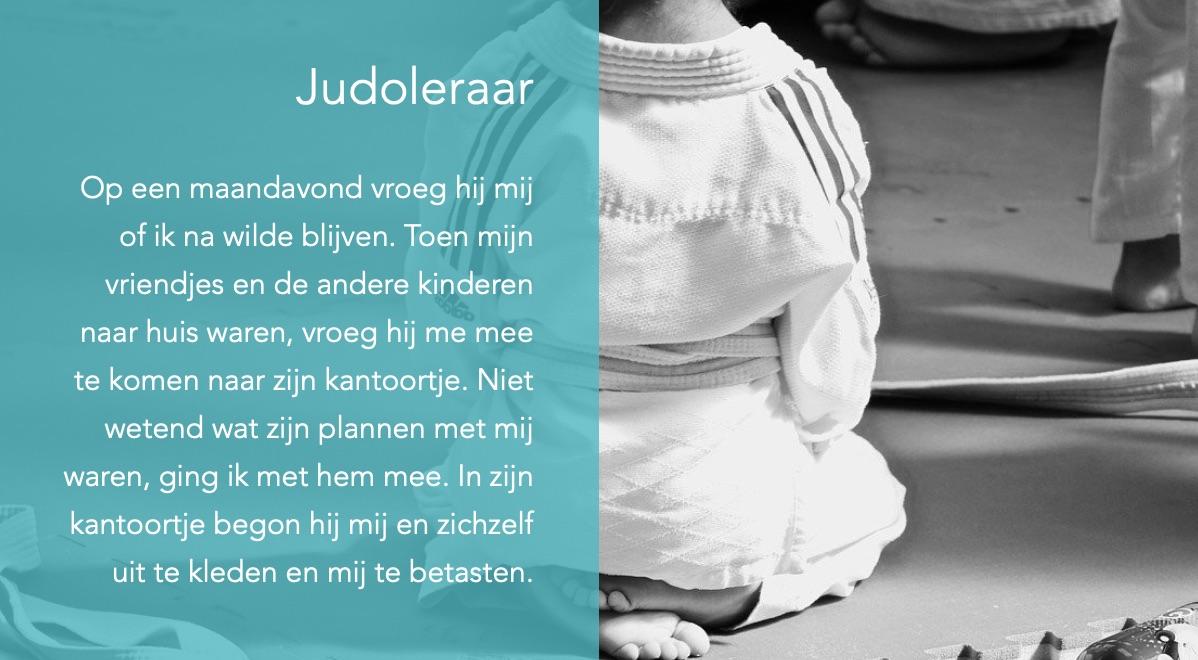 Ervaringsverhaal Judoleraar